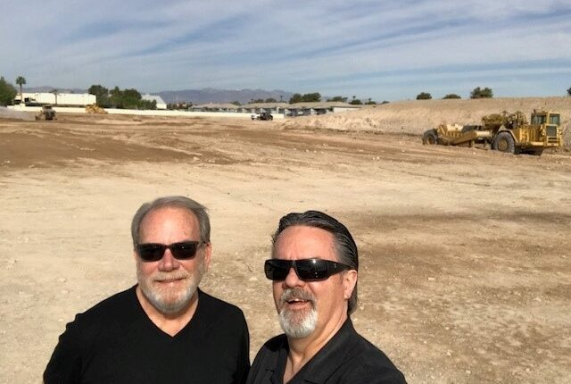 Chris Grant and Phil Ralston visit American Nevada's Green Valley Town Center apartment project